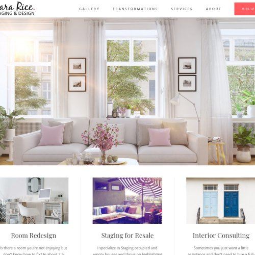Sara Rice Staging & Design