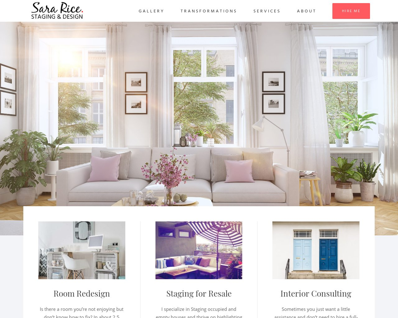 Sara Rice Staging & Design